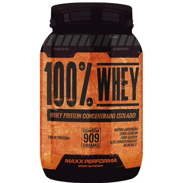 Whey protein isolada sabor chocolate